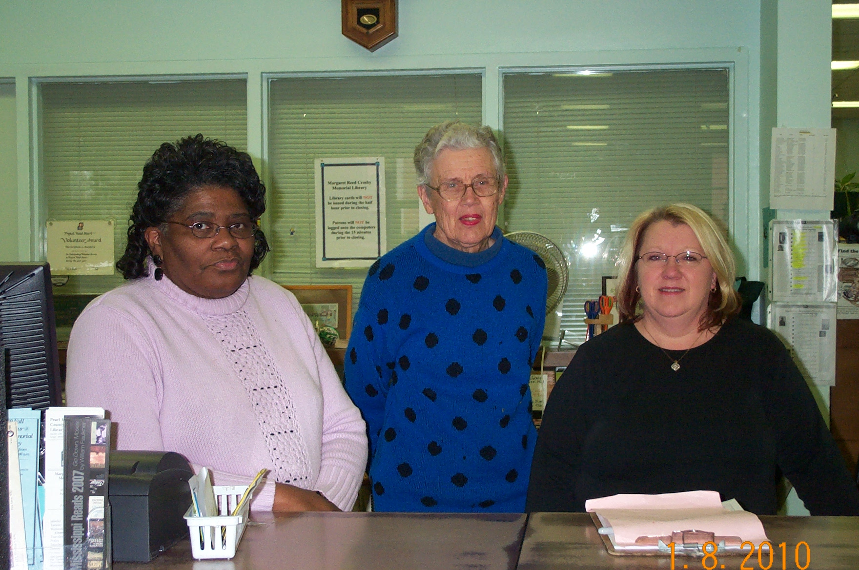 Crosby Desk Staff - 2010-01